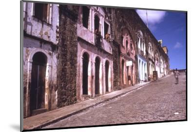 Slums of Salvador, State of Bahia, Brazil-Alfred Eisenstaedt-Mounted Photographic Print