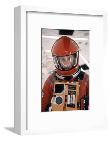 """Actor Keir Dullea in Space Suit in Scene from Motion Picture """"2001: a Space Odyssey."""", 1968-Dmitri Kessel-Framed Photographic Print"""
