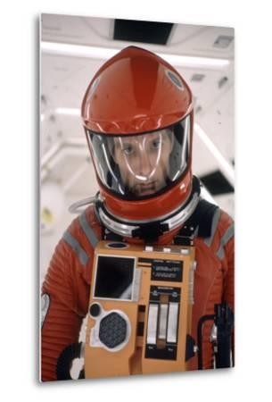 """Actor Keir Dullea in Space Suit in Scene from Motion Picture """"2001: a Space Odyssey."""", 1968-Dmitri Kessel-Metal Print"""