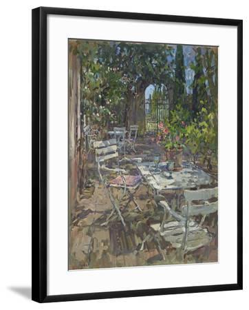 Terrace, Mas De La Rose-Susan Ryder-Framed Giclee Print