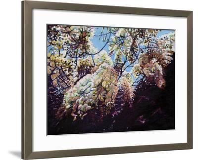 White Wisteria, 2012-Helen White-Framed Giclee Print