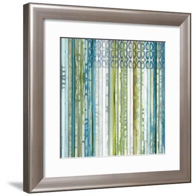 Vertical Ends-Ruth Palmer-Framed Art Print