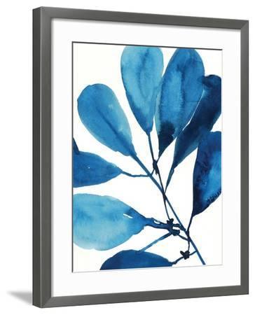Sapphire Stems II-Asia Jensen-Framed Art Print