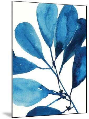 Sapphire Stems II-Asia Jensen-Mounted Art Print