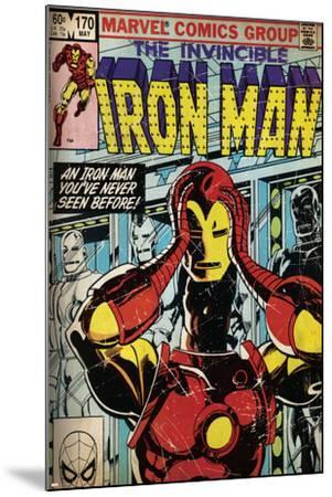 Marvel Comics Retro Style Guide: Iron Man--Mounted Art Print