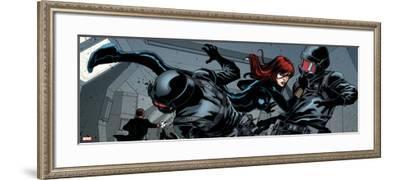 Avengers Assemble Style Guide: Black Widow--Framed Art Print