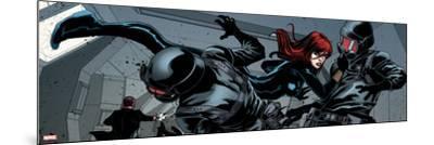 Avengers Assemble Style Guide: Black Widow--Mounted Art Print