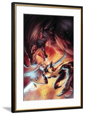 X-Men: Hellbound No. 3: Magik--Framed Art Print