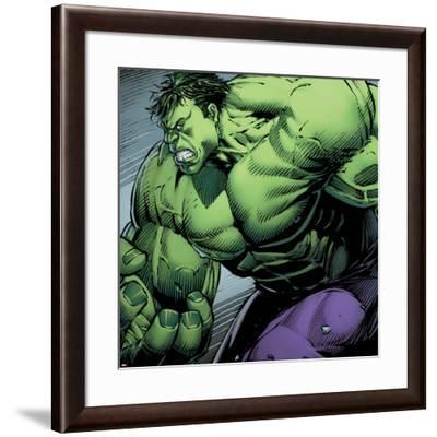 Avengers Assemble Style Guide: Hulk--Framed Art Print