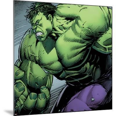 Avengers Assemble Style Guide: Hulk--Mounted Art Print