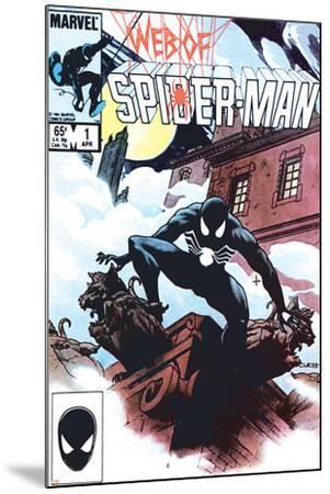 Web Of Spider-Man No 1 Cover: Spider-Man Crouching Art Print by Charles  Vess | Art com