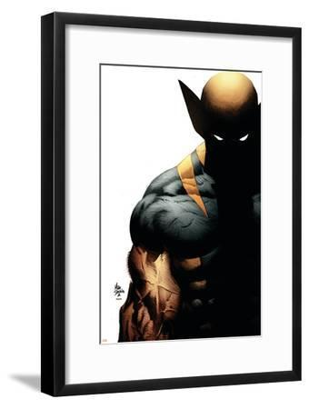 Wolverine: Origins No.28 Cover: Wolverine-Mike Deodato-Framed Art Print