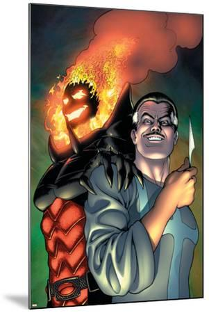 Defenders No.4 Cover: Dr. Strange and Dormammu-Kevin Maguire-Mounted Art Print
