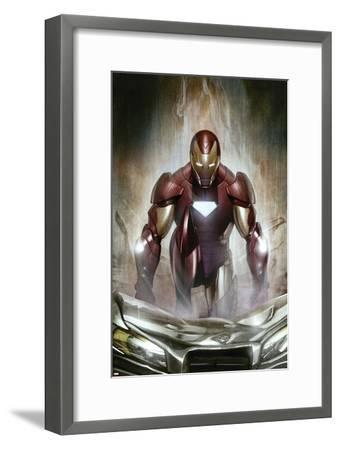 Iron Man: Director Of S.H.I.E.L.D. No.30 Cover: Iron Man--Framed Art Print