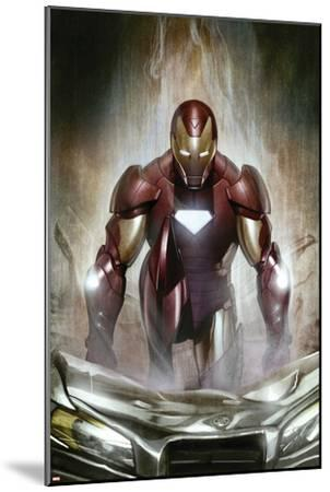 Iron Man: Director Of S.H.I.E.L.D. No.30 Cover: Iron Man--Mounted Art Print