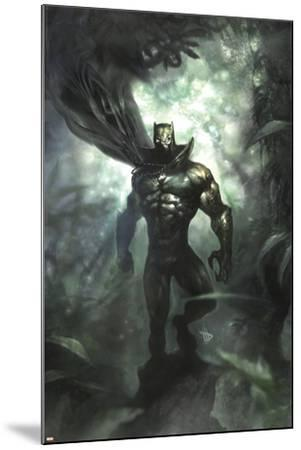 Black Panther No.35 Cover: Black Panther-Dave Wilkins-Mounted Art Print