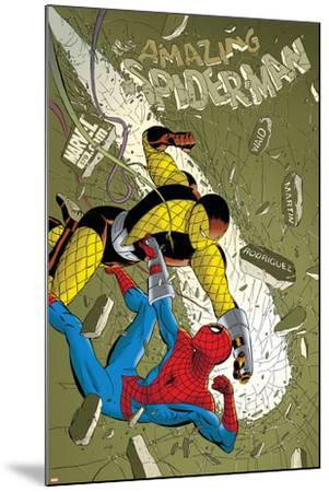 The Amazing Spider-Man No.579 Cover: Spider-Man and Shocker-Marcos Martin-Mounted Art Print