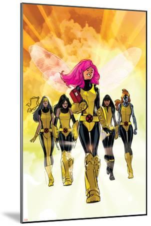 X-Men: Pixie Strikes Back No.1 Cover: Pixie, X-23, Blindfold, Armor and Mercury-Stuart Immonen-Mounted Art Print