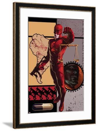 Daredevil No.109 Cover: Daredevil--Framed Art Print