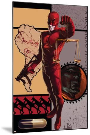 Daredevil No.109 Cover: Daredevil--Mounted Art Print
