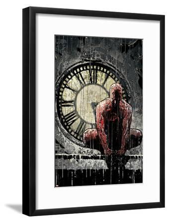 Daredevil No.62 Cover: Daredevil-Alex Maleev-Framed Art Print