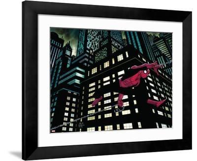 Amazing Spider-Man No.600 Cover: Spider-Man--Framed Art Print