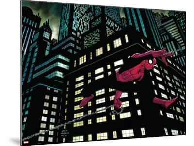 Amazing Spider-Man No.600 Cover: Spider-Man--Mounted Art Print