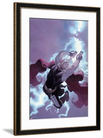 Thor: God of Thunder #11 Cover: Thor-Esad Ribic-Framed Art Print