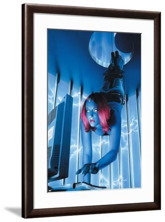 Mystique No.18 Cover: Mystique--Framed Art Print