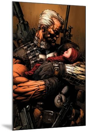 Uncanny X-Men No.493 Cover: Cable-David Finch-Mounted Art Print
