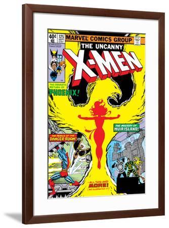 Uncanny X-Men No.125 Cover: Phoenix, Colossus, Storm, Madrox and Havok-John Byrne-Framed Art Print