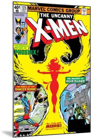 Uncanny X-Men No.125 Cover: Phoenix, Colossus, Storm, Madrox and Havok-John Byrne-Mounted Art Print