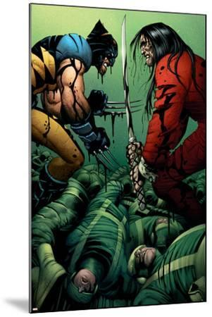 Wolverine No.31 Cover: Wolverine and Gorgon--Mounted Art Print