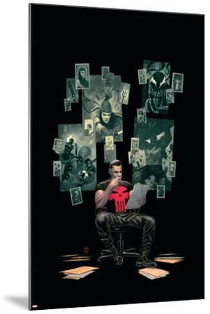 Thuderbolts #12 Cover: Punisher, Venom, Elektra, Deadpool, Red Hulk-Julian Totino Tedesco-Mounted Art Print