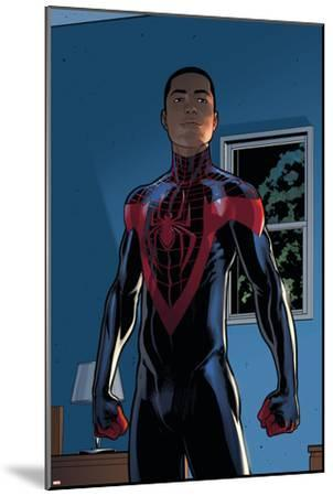 Ultimate Comics Spider-Man #28 Featuring Spider-Man, Miles Morales-David Marquez-Mounted Art Print