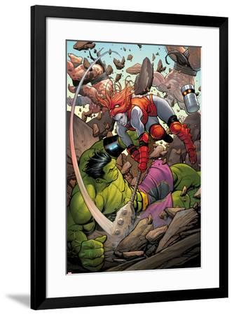 Totally Awesome Hulk No 2 Panel, Featuring Lady Hellbender and Totally  Awesome Hulk Art Print by | Art com