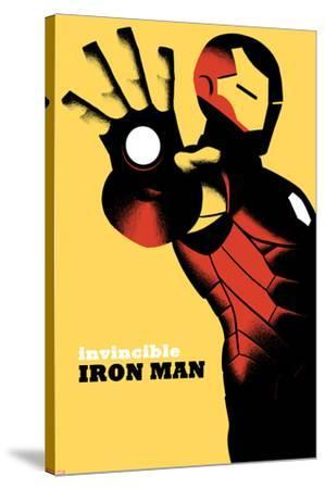Invincible Iron Man No.6 Cover--Stretched Canvas Print