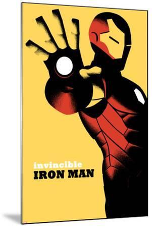 Invincible Iron Man No.6 Cover--Mounted Art Print