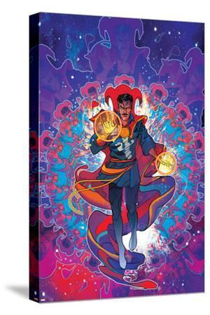 Cover Art Featuring Dr. Strange--Stretched Canvas Print