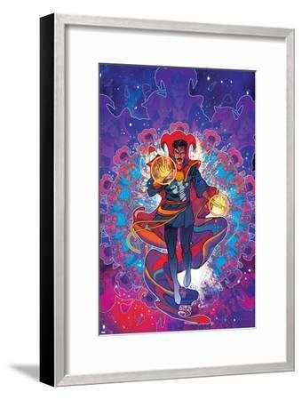 Cover Art Featuring Dr. Strange--Framed Art Print