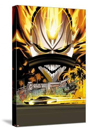 All-New Ghost Rider No. 11 Cover-Fiona Staples-Stretched Canvas Print
