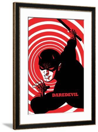 Daredevil No. 4 Cover-Michael Cho-Framed Art Print