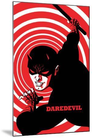 Daredevil No. 4 Cover-Michael Cho-Mounted Art Print