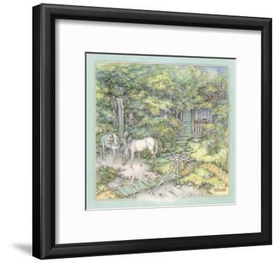 Woodland Destination-Kim Jacobs-Framed Giclee Print
