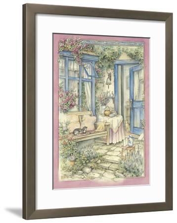 Afternoon Tea-Kim Jacobs-Framed Giclee Print