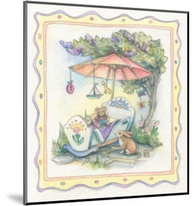 Baby's Parasol-Kim Jacobs-Mounted Giclee Print