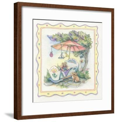 Baby's Parasol-Kim Jacobs-Framed Giclee Print
