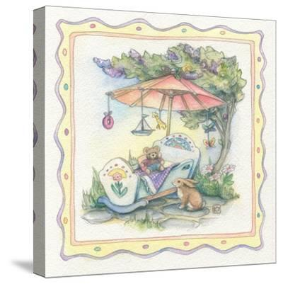 Baby's Parasol-Kim Jacobs-Stretched Canvas Print
