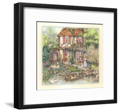 Riverside Cottage-Kim Jacobs-Framed Giclee Print