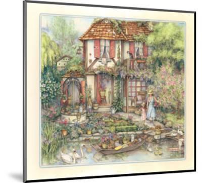 Riverside Cottage-Kim Jacobs-Mounted Giclee Print